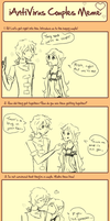 Coulpe Meme, Mykolas x Cherie. by Natsumiland