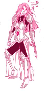Pink Diamond - concept by livia-lobo