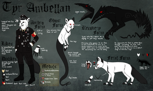 Tyr Ambellan Reference Sheet by CorruptedFox