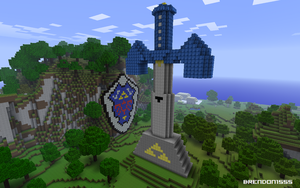 Minecraft Zelda Tribute by brendon1555