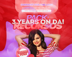 +PACK 3 YEARS ON DA: RECURSOS by CAMI-CURLES-EDITIONS