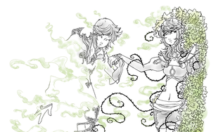 Gaiaonline Contest - Silver Wisps - 3 by Ushimipan