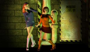 Daphne and Velma in Trouble! by Happenstance6