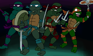 Ninja Turtles by SmashToons