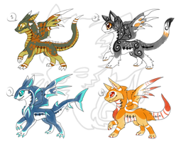 Dragoumplex adopts batch2 (ended) by onigiryStuff