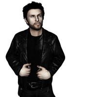 Alex Shepherd - Heavy Leather Jacket | Render by Rockeeterl