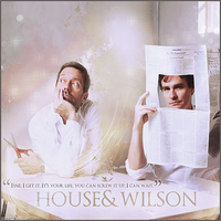 House N' Wilson by Tinker-Bells
