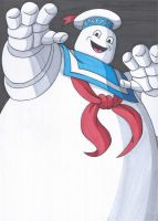 Stay Puft Marshmallow Man by RobertMacQuarrie1