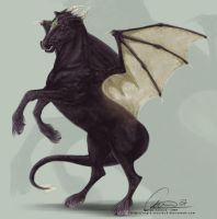 Equus Draconis by ValkAngie