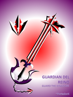 guardian del reino -guard the kingdom- by portadorX