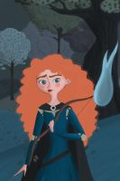 Merida by fabiosketches