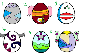 Egg Adopts - OPEN by P-Pixie-Adopts-Bases