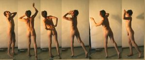 back male nude washing by TheMaleNudeStock