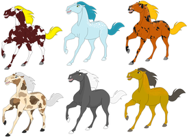 Horse Adopts 4 by Topdoggie7