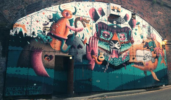 Graffiti Manchester 3 by DTCT