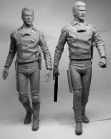 Goose and Rockatansky by Switchum