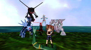 Yeah never challenge Xana to a Pokemon battle by MMDGLaDOS