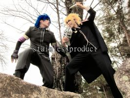 JoJo's Bizarre Adventure Part 1 - Phantom Blood by stainlessproduct