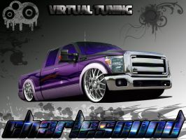 Ford F 250 super Duty VT by CHARLESOUNDcar