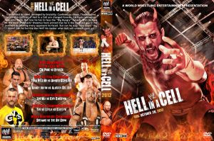 WWE Hell in a Cell 2012 V3 DVD Cover by Chirantha