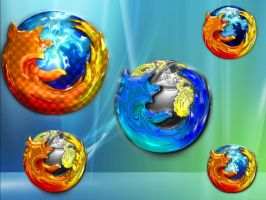 The FireFox Five :P by X3RG10