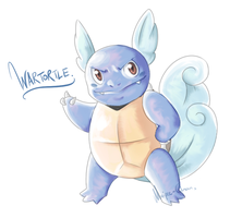Here have a Wartortle. by Maipee-Chan