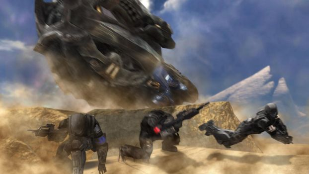 Halo 3- Take Cover! by Spartan308