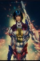 G1 Starscream (humanized) Decepticon Air Commander by Valong