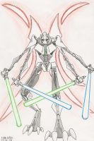 Supreme Commander Grievous by MrARTism
