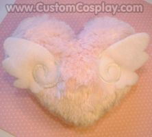 Winged heart plushie by The-Cute-Storm