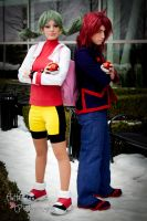 Pokemon Trainer Kris/Crystal and Silver by neoqueenhoneybee