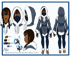 Character Sheet - Aki by anekochan