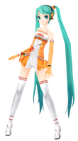 [MMD] Project DIVA Extend: Racing Miku 2010 + DL by mist-of-wind