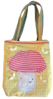 Squishy Mushroom Tote Bag by deconstructedstars