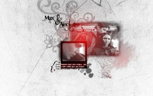 Dark Angel - Max and Alec by nazarienne