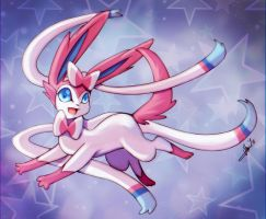 Sylveon by WhitePhox