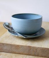 Soup bowl and sandwich plate by scarlet1800