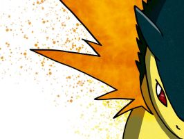 Typhlosion Pop art by Monnick