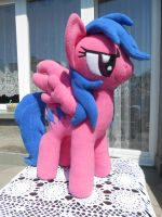 My Little Pony FIREFLY custom plush by calusariAC