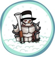 Frosty the Warforge by butterfrog