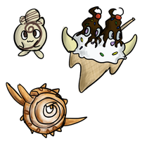 [PTS] Pokemon Design contest entries by KiwiDoge