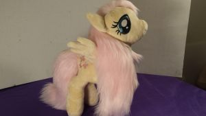Kain's Fluttershy plush by Fanglore-and-Kain