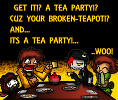 BrokenTeapot Bday Card by Gafagear