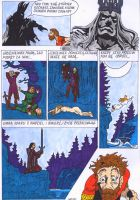 Morgoth punishes Hurin page 3 by Wosiu1989