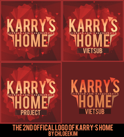 THE 2ND OFFICAL LOGO OF KARRY'S HOME. by ChloeeKim