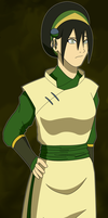 Avatar Future: Toph by SractheNinja