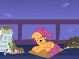Scootaloo's Reality by eternaluprising4