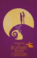 The Nightmare Before Christmas by GushueDesign