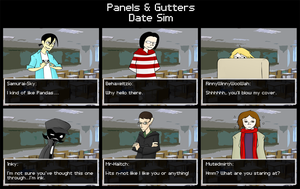 Panels and Gutters - Date Sim by Mr-Haitch