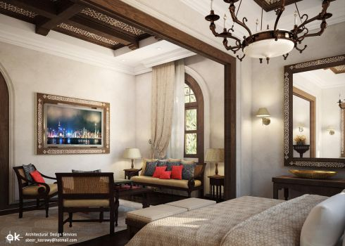 KSA Boutique hotel - Interior 1 by kasrawy